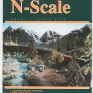N Scale Magazine March April 1996 Back Issue Train Railroad