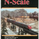 N Scale Magazine July August 1996 Back Issue Train Railroad