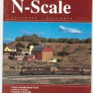 N Scale Magazine November December 1995 Back Issue Train Railroad