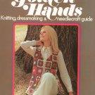 Golden Hands Part 6 Knitting Dressmaking Needlecraft Guide Vintage