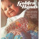 Golden Hands Part 17 Patchwork Knitting Children Netting Vintage