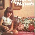 Golden Hands Part 21 Roses Knitting Dressmaking Christening Gown Vintage