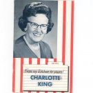 From My Kitchen To Yours Charlotte King Vintage Regional New York Republican Political Advertising