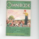 Omnibook Magazine January 1947 Vintage