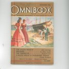 Omnibook Magazine November 1946 Vintage