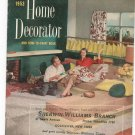 Vintage Sherwin Williams Home Decorator And How To Paint Catalog  1953