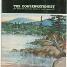 Vintage The Conservationist Magazine August September 1961 Back Issue New York State