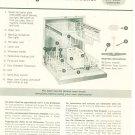 Vintage Frigidaire Dishwasher Instruction Brochure Model DW-CDMP & DW-CDUP