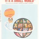 Walt Disney's It's A Small World Sheet Music Wonderland Music Sherman