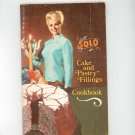 Solo Cake And Pastry Fillings Cookbook Vintage