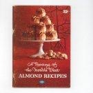 A Treasury Of The Worlds Best Almond Recipes Cookbook Vintage Blue Diamond