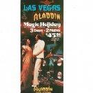 Vintage Las Vegas Aladdin Magic Holiday Travel Brochure 1975 1976