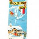 Vintage Tirolerland Inn Travel Brochure New York