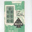 Vintage American Contract Bridge League Bulletin March 1965