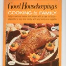 Good Housekeepings Cooking For The Family Cookbook Book 8 1967 Vintage