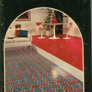 Vintage Congoleum Fine Floors 1972 Catalog Hard Cover