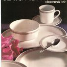 Vintage Centura Dinnerware Catalog Corning 1972