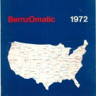 Vintage BernzOmatic 1972 Annual Report Not PDF
