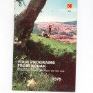Kodak Your Programs From Kodak AT-1 1975 Library Catalog Vintage