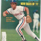 Sports Illustrated Magazine March 28 1977 Bump Wills Texas Rangers