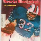 Sports Illustrated Magazine September 16 1974 O.J. Simpson