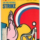 Sports Illustrated Magazine August 5 1974 The Pro Football Strike