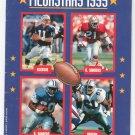 Pro Football Megastars 1995 by Bruce Weber 0590535277