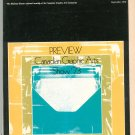 Canadian Printer & Publisher Maclean Hunter Graphic Arts Preview Show 1973