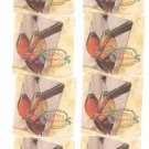 Lot Of 8 Vino Riserva Wine Coaster Mat