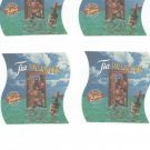 Lot Of 4 Tia Maria Coaster Mat Tia Takes You There Tia Talk