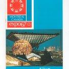 Vintage Expo '67 Album Souvenir Book Montreal Canada