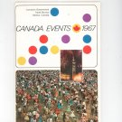 Vintage Canada Events 1967 Travel Guide