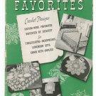 Vintage Old And New Favorites Revised Book Number 205 Crochet
