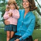 Vintage Bernat Cables & Raglans Sweaters Coats Dresses Book Number 130