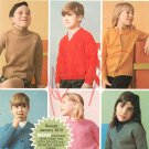 Vintage Bernat Six Classics For Youngsters and Juniors Sweaters Booklet Number 148