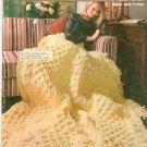 Vintage Bernat A Bouquet Of Bernat Afghans Book Number 160 Knit & Crochet Berella