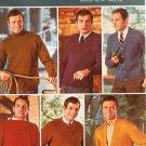 Vintage Bernat Big Six Sweaters Men Like Best Booklet Number 147