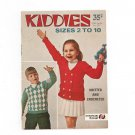 Vintage Kiddies Size 2 To 10 Book 227 by Star Knit & Crochet American Thread