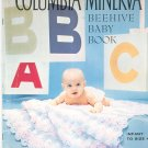 Vintage Columbia Minerva Beehive Baby Book Volume 723 Infant To Size 4