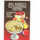 Mrs. Eckerts Old Fashioned Recipes Cookbook Strawberries Peaches Apples Pumpkins
