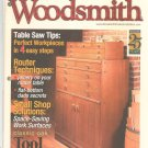 Woodsmith Magazine 25 Years Special Collector's Edition Classic Oak Tool Cabinet Plus Back Issue