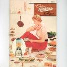 Vintage Super Deluxe Osterizer Recipes Cookbook & Manual 1963