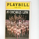 Playbill A Chorus Line Shubert Theatre Souvenir Program 1988