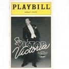 Playbill Victor Victoria Marquis Theatre Souvenir Program 1996