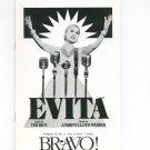Evita Bravo Rochester Philharmonic Orchestra New York Souvenir Program 1992