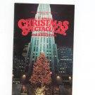 Radio City Music Hall Christmas Spectacular Starring The Rockettes Souvenir 1988