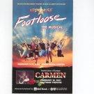 Footloose Rochester Broadway Theatre League & Albert Nocciolino Applause Souvenir Program