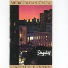 Metropolitan Opera Stagebill April 1993 Giuseppe Verdi La Traviata Souvenir Program Lincoln Center