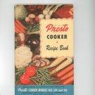 National Presto Cooker Model 103 104 106 Cookbook / Manual Vintage