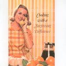 Cooking With A Surprising Difference Cookbook Carnation Velvetized Milk 1966